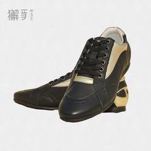 獬豸正品 真皮运动鞋 超轻防水防滑耐磨休闲运动鞋
