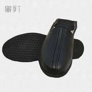 獬豸服饰 中式两穿练功鞋 功夫大师踩跟两用鞋真皮功夫鞋